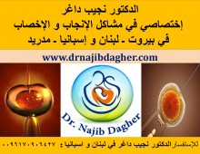 Dr. Najib Dagher, IVF in Lebanon, Gynecology & Fertility specialist in Lebanon & Spain